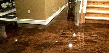 Atlanta liquefied Metal Epoxy Floors